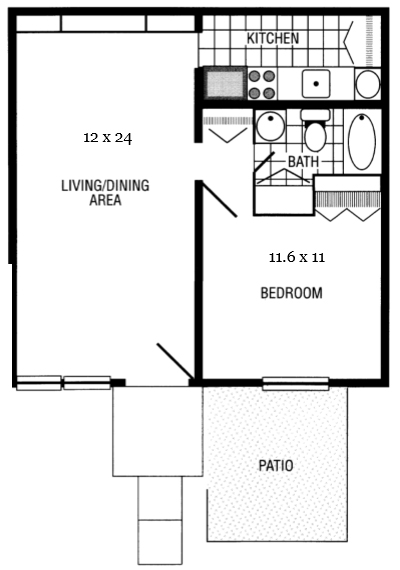 one-bedroom-thornapple